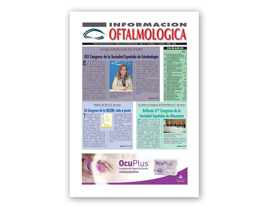 Número 2 – 2008 – Información oftalmológica