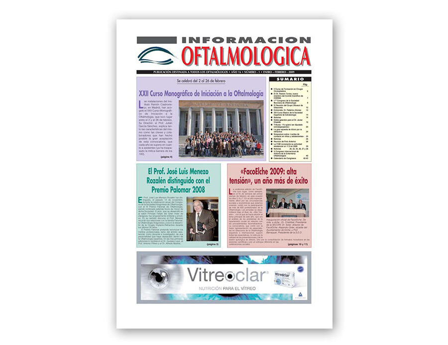 Número 1 – 2009 – Información oftalmológica