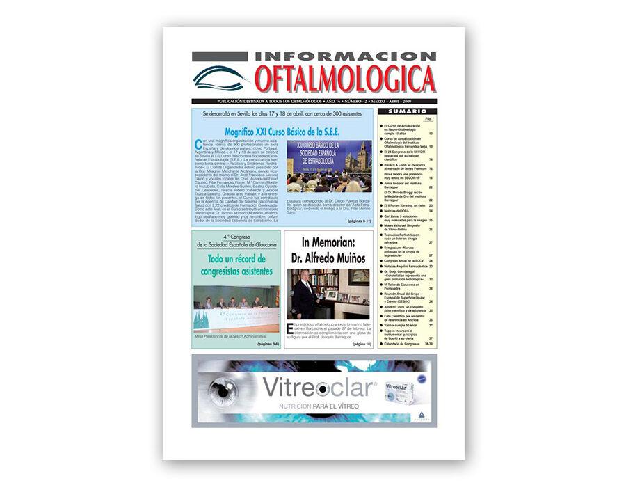Número 2 – 2009 – Información oftalmológica