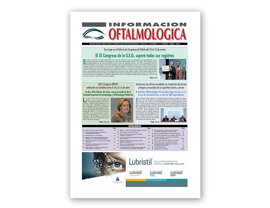 Número 2 – 2016 – Información oftalmológica